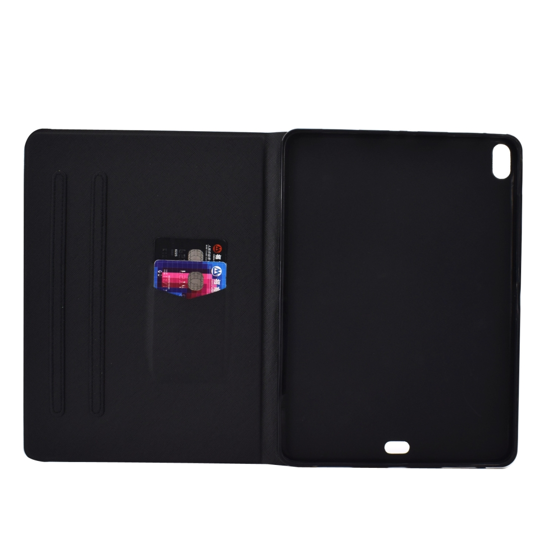 Colorful Protective iPad Pro 11 Case (2018), w/Auto Sleep, Sleeves, Non-slip (2018) (Cat)