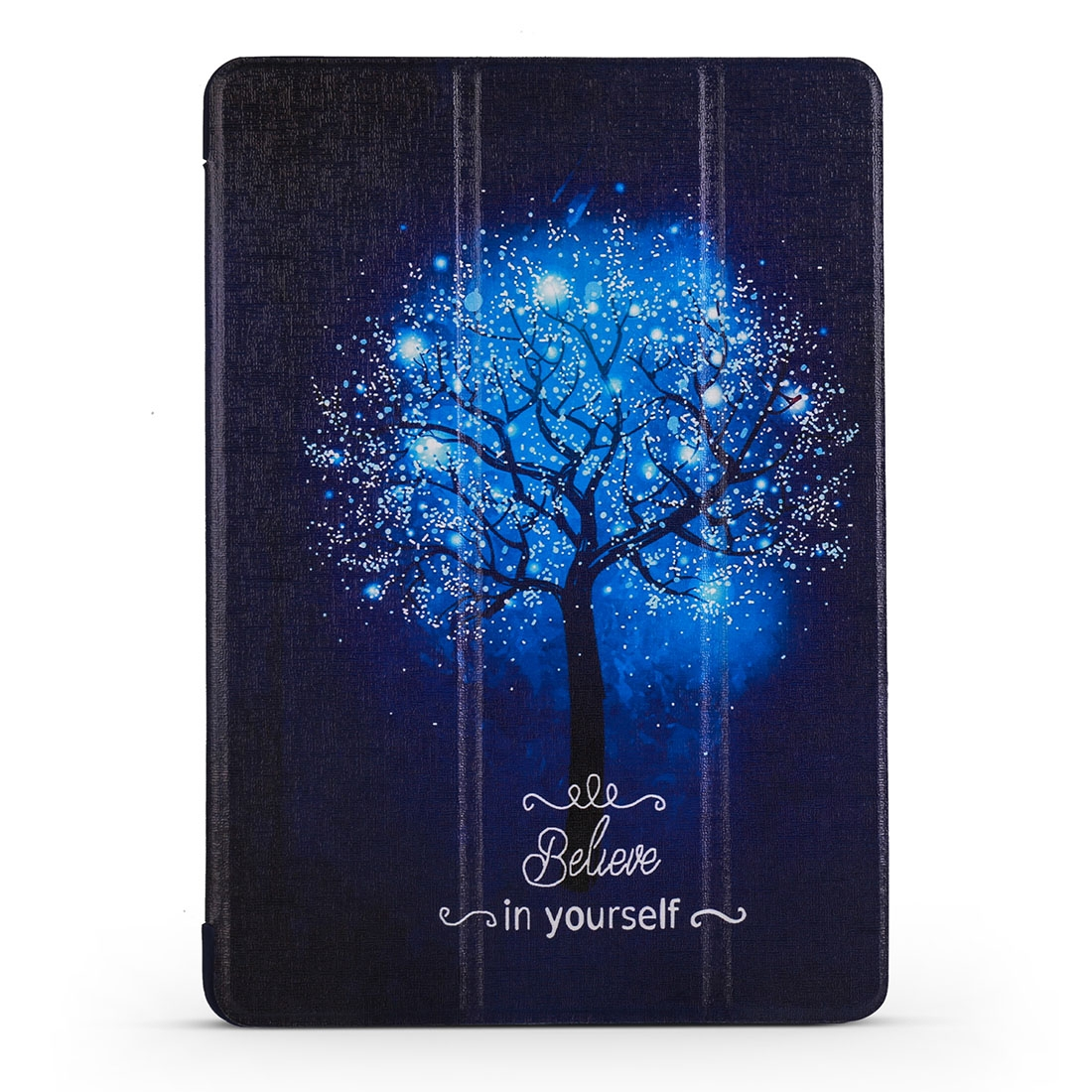 Blue Tree Leather iPad Air 2 Case (2019)/ Pro 10.5 inch, with Tri-Fold Honeycomb Durable Cover
