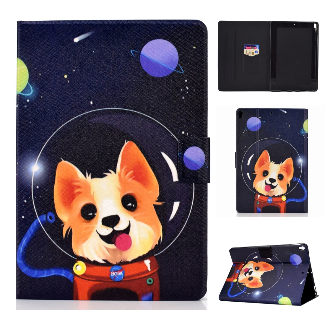 Artsy Protective iPad Air 3 Case (10.5 Inch), iPad Air (2019), Auto Sleep, Non-slip (Dog)