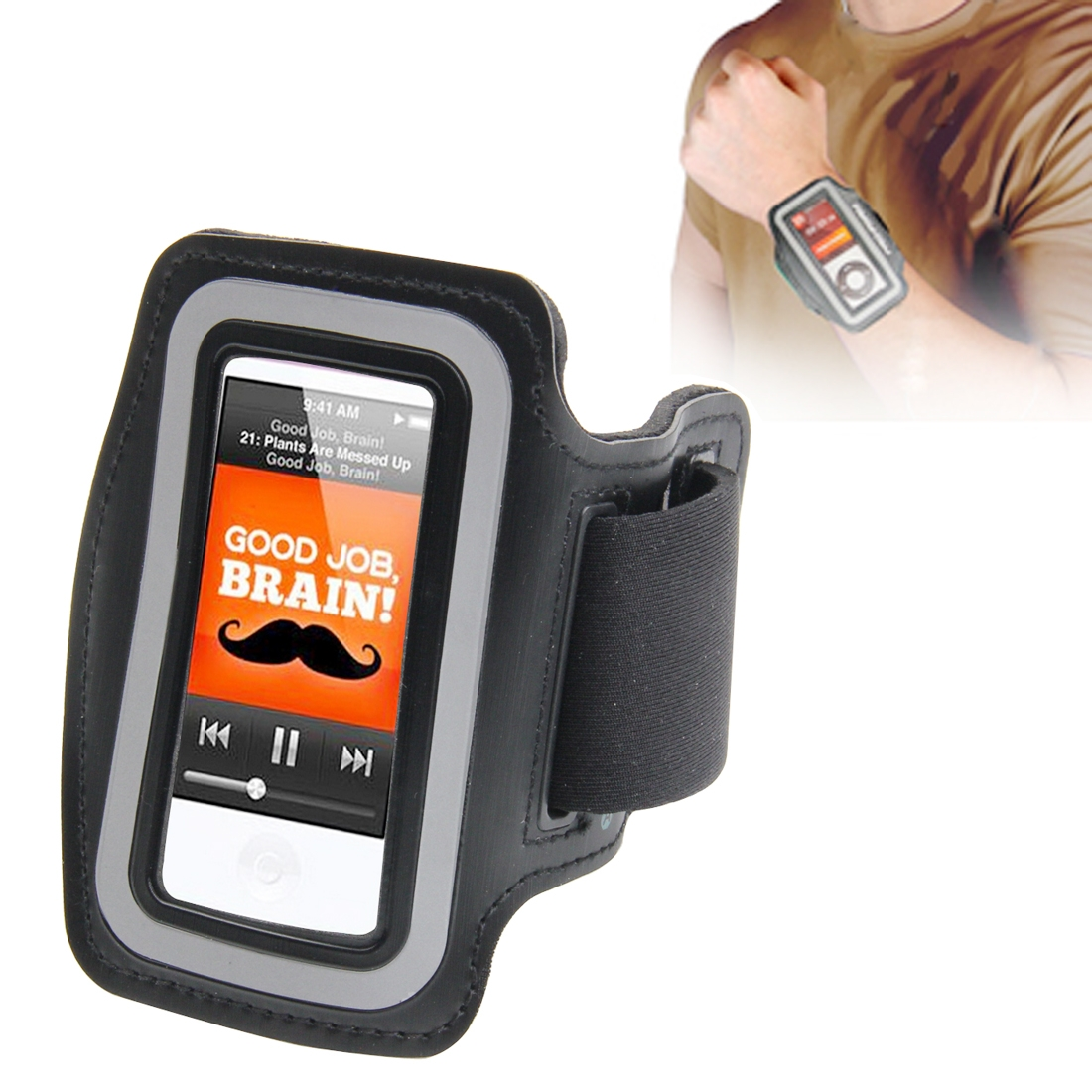 Sports Armband Case for iPod nano 7 (Black)