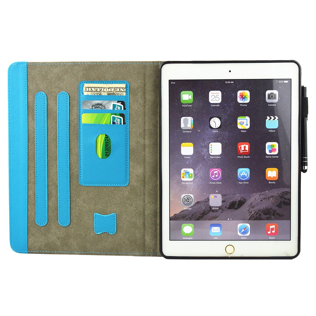 Colorful Leather iPad 9.7 Case (2018) & iPad 9.7 inch 2017/ iPad Air/iPad Air 2 Case, Sleeves