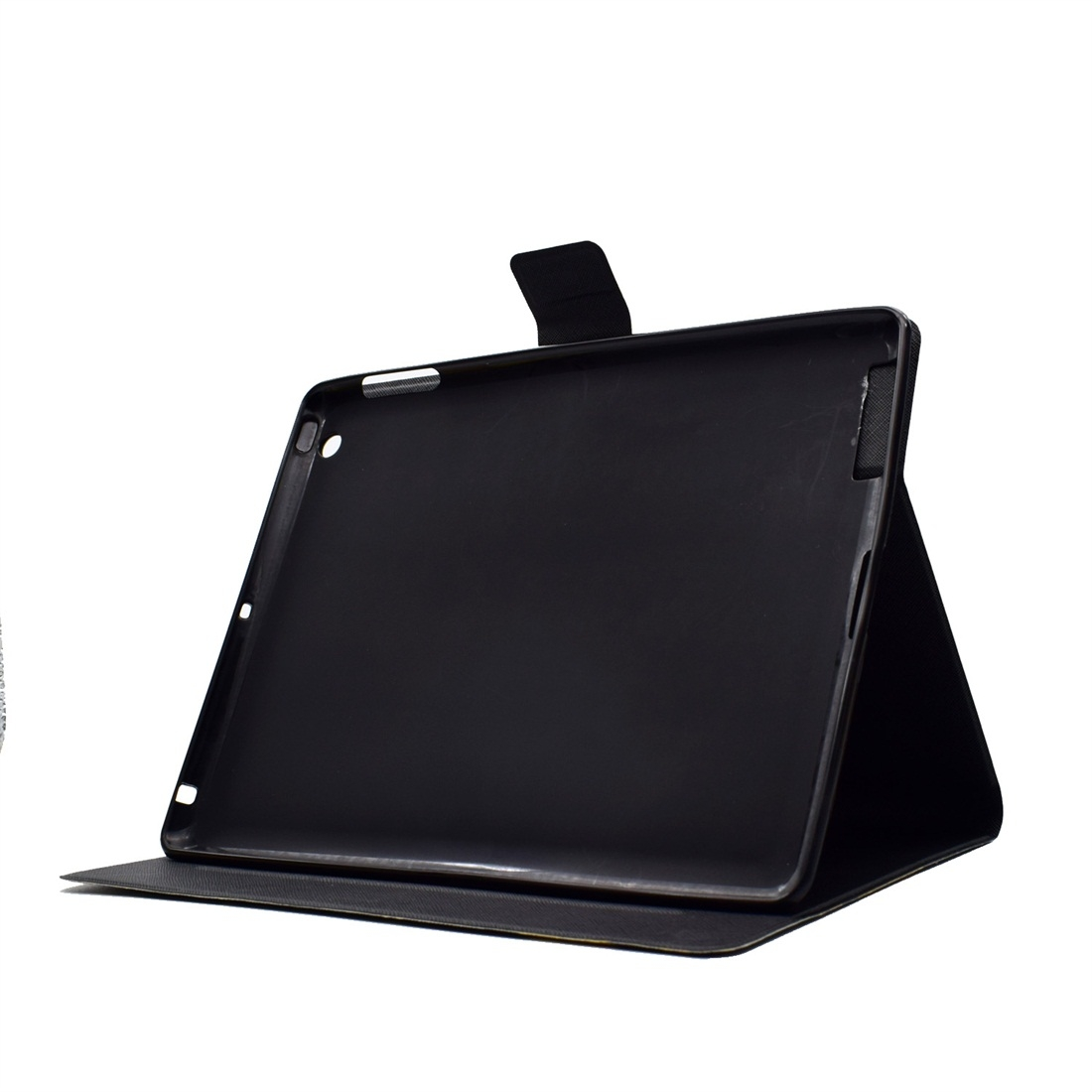 iPad 4 Case For iPad 4/ 5/ 6 Featuring A Protective Leather Cover With Auto Sleep (White Gold)
