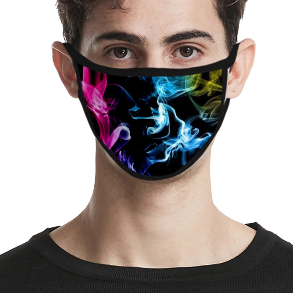 Cloth Face Mask, Washable, Great Breathability - Designer Print