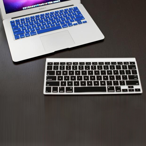 Macbook Pro Keyboard Cover For Pro 13.3 / 15.4 / 17.3 inch (US) /A1278 /A1286/ Soft Silicone(Black)