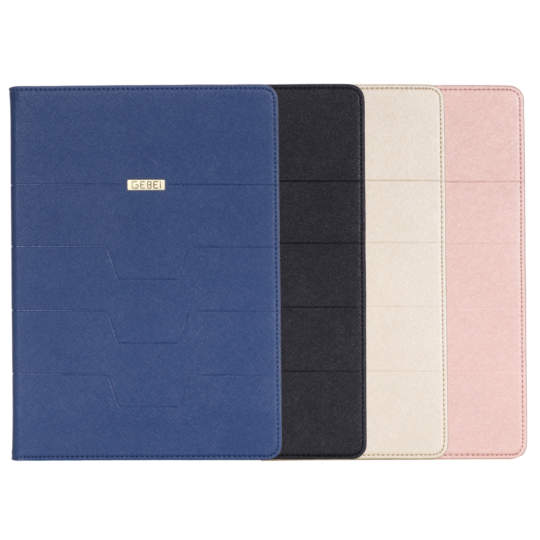 PU/Leather iPad Air 3 Case (10.5 Inch) with Sleeves (Rose Gold)