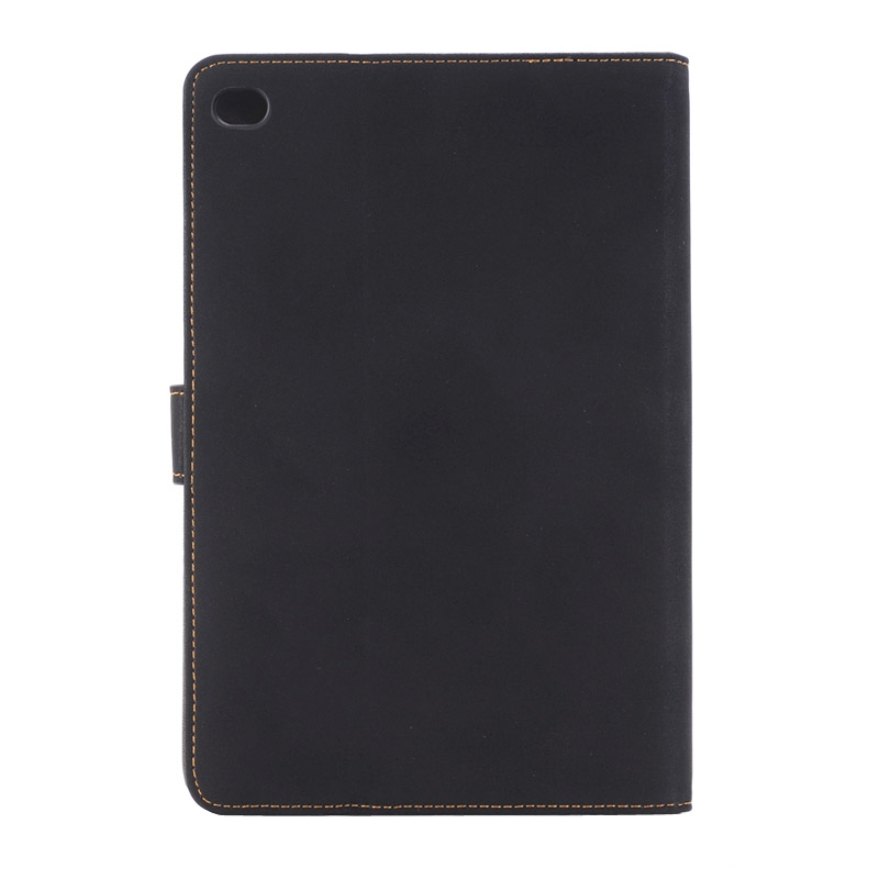 Archaize Texture Smart Leather iPad Mini 4 Case, Also For iPad Mini 2019 (Black)