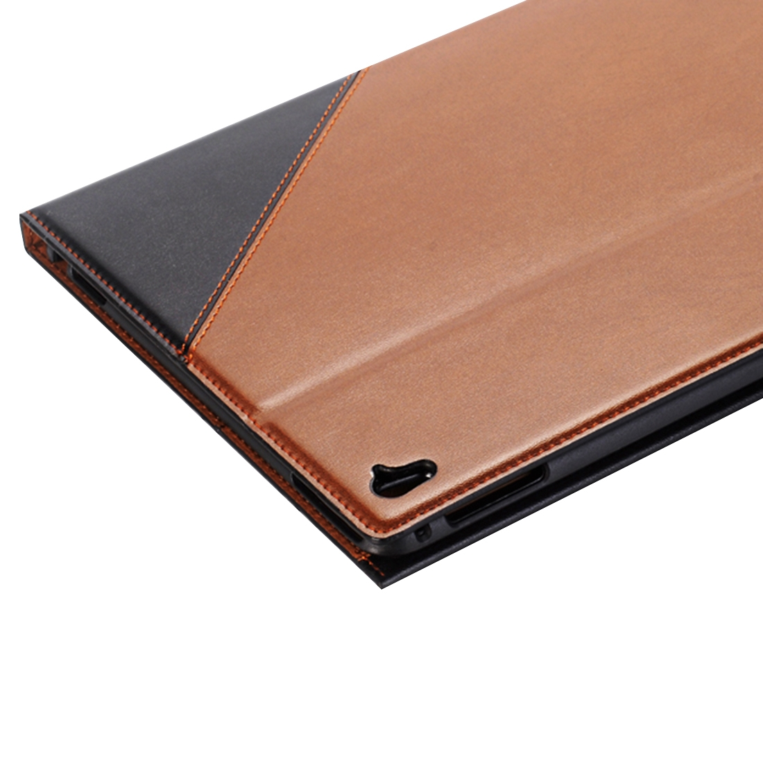 Book Style Leather Case iPad Air 2 Case (9.7 Inch) (Black)