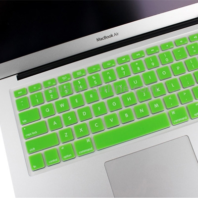 Macbook Pro Keyboard Cover For Air 13.3/Pro Retina 13.3/15.4/A1398/A1425/A1369/A1466/A1502 (Green)