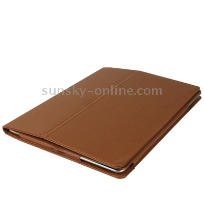 iPad 2 Case Featuring Premium Quality Leather With A Slim Profile (Coffee)