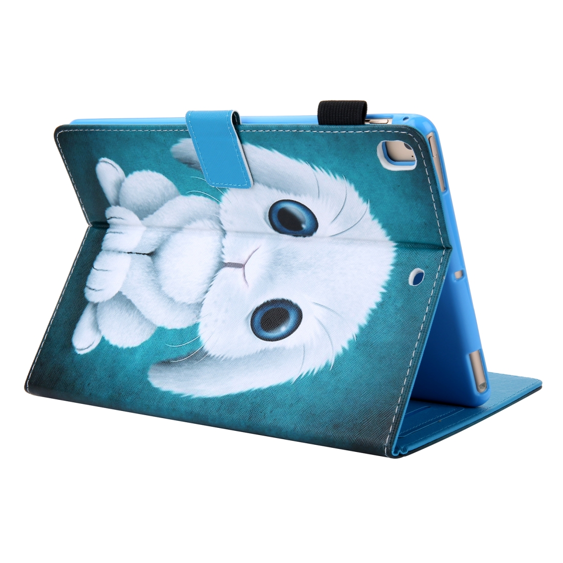 iPad 10.5 Case Colorful Design Leather Case with Sleeve (Rabbit)