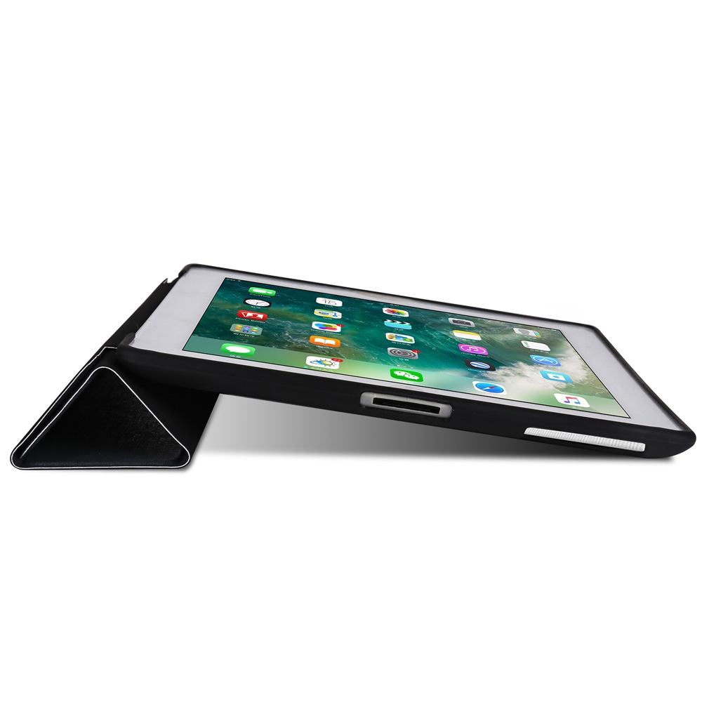 Blue Tree Leather iPad 4th Generation Case Fits iPad 2,3,4, with Tri-Fold Honeycomb Durable Cover