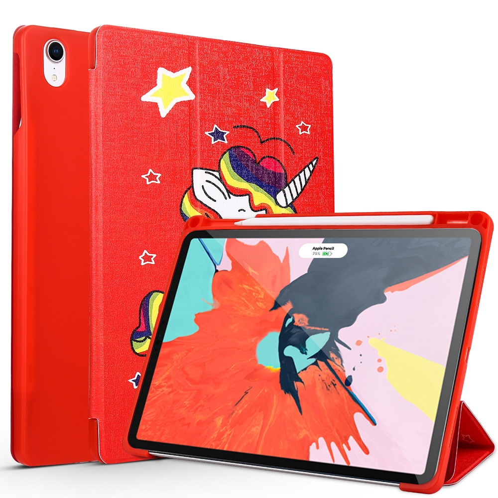 Unicorn Leather iPad Pro 11 Case (2018), with Pen Holder