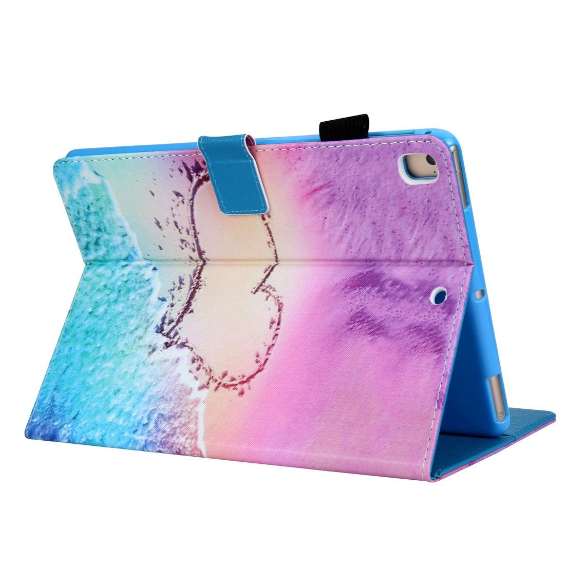 Hearty Leather iPad Air Case/ Air 2/ iPad Pro 9.7 2016/ iPad 9.7 2017/ 9.7 2018, w/ Slim Profile