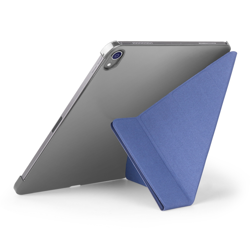 Shockproof Durable Protective iPad Pro 12.9 Case (2018), with Auto Sleep (Dark Blue)