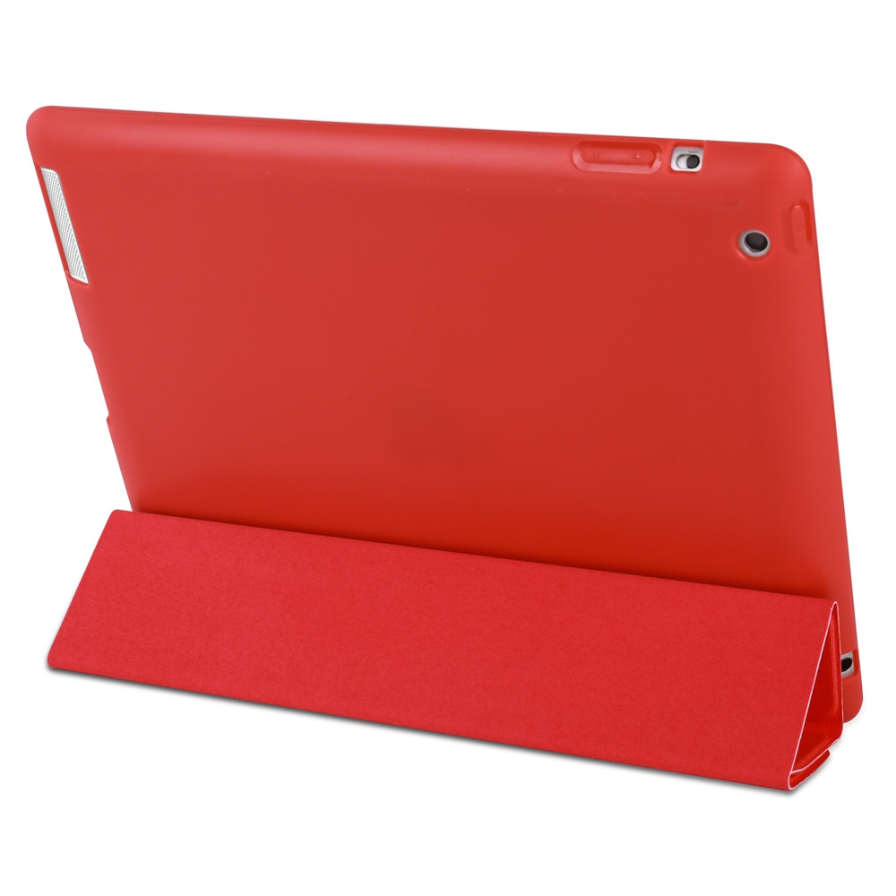 Unicorn Leather iPad 4th Generation Case Fits iPad 2,3,4, with Tri-Fold Honeycomb Durable Cover