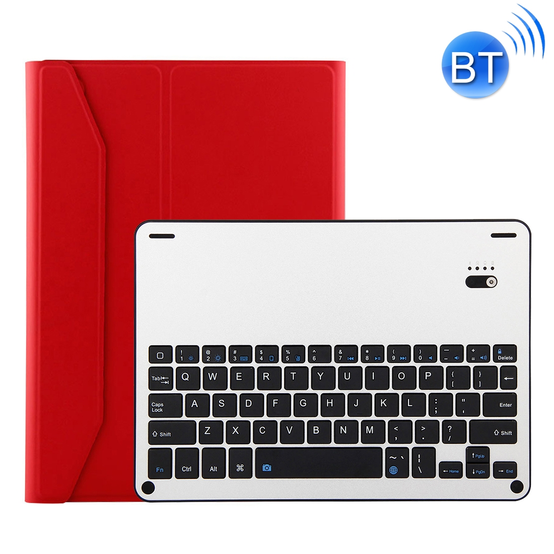 iPad Air 2 Case With Keyboard With Leather Case For iPad Air/Air 2/Pro 9.7 inch  (Red)