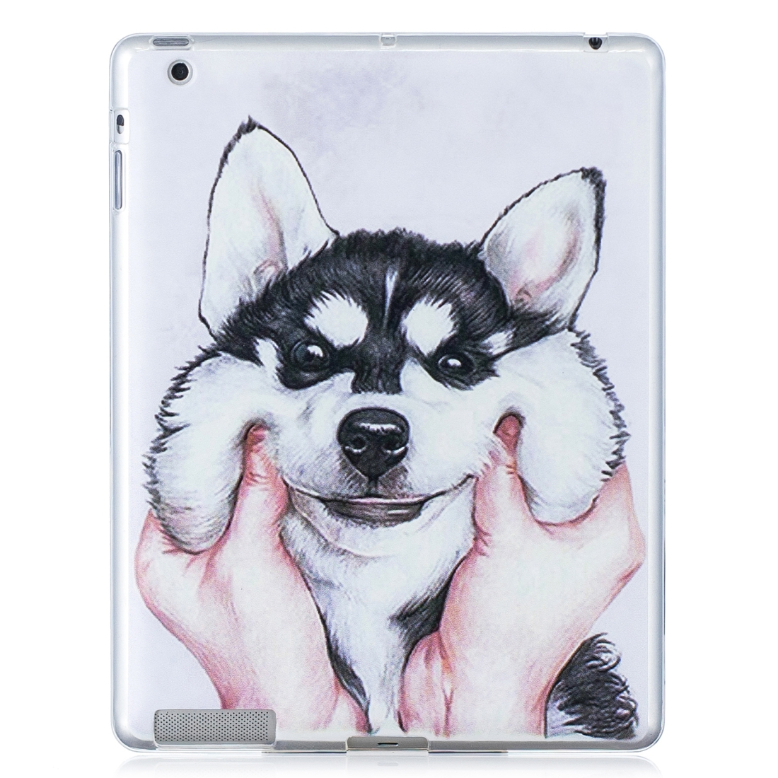 iPad 2 Case, Fits iPad 2, 3, 4,  Artistic Patterned Durable Protective Case (Husky)