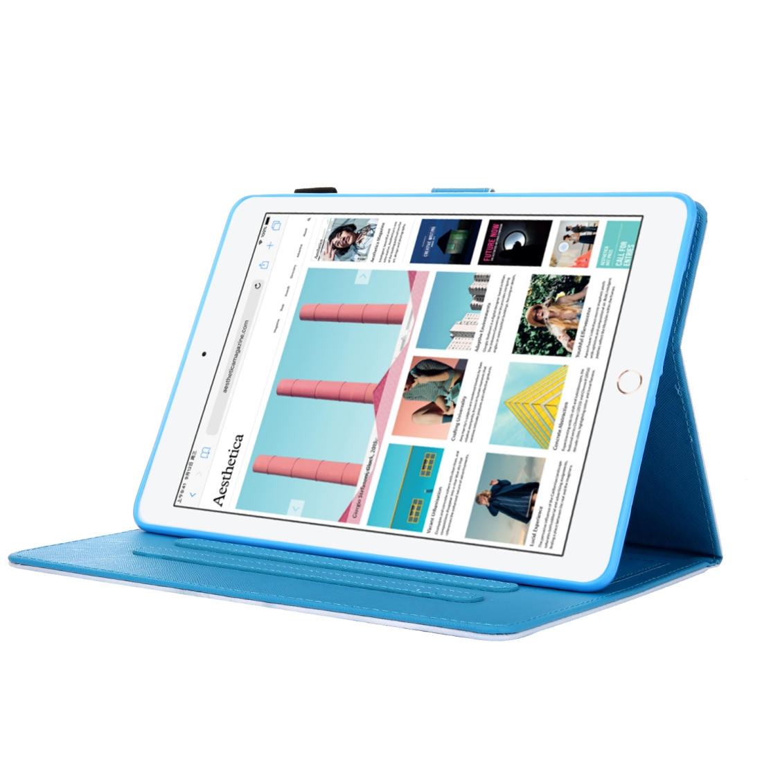 3D Leather Case with Sleeve  iPad 9.7 Case (Panda)