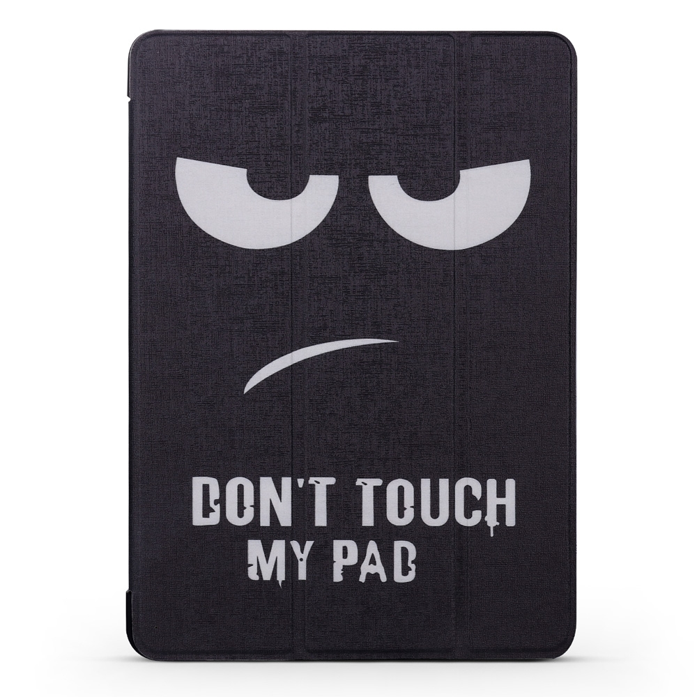 Angry Expression Leather iPad Air 2 Cover (9.7 Inch), with Tri-Fold Honeycomb Durable Cover