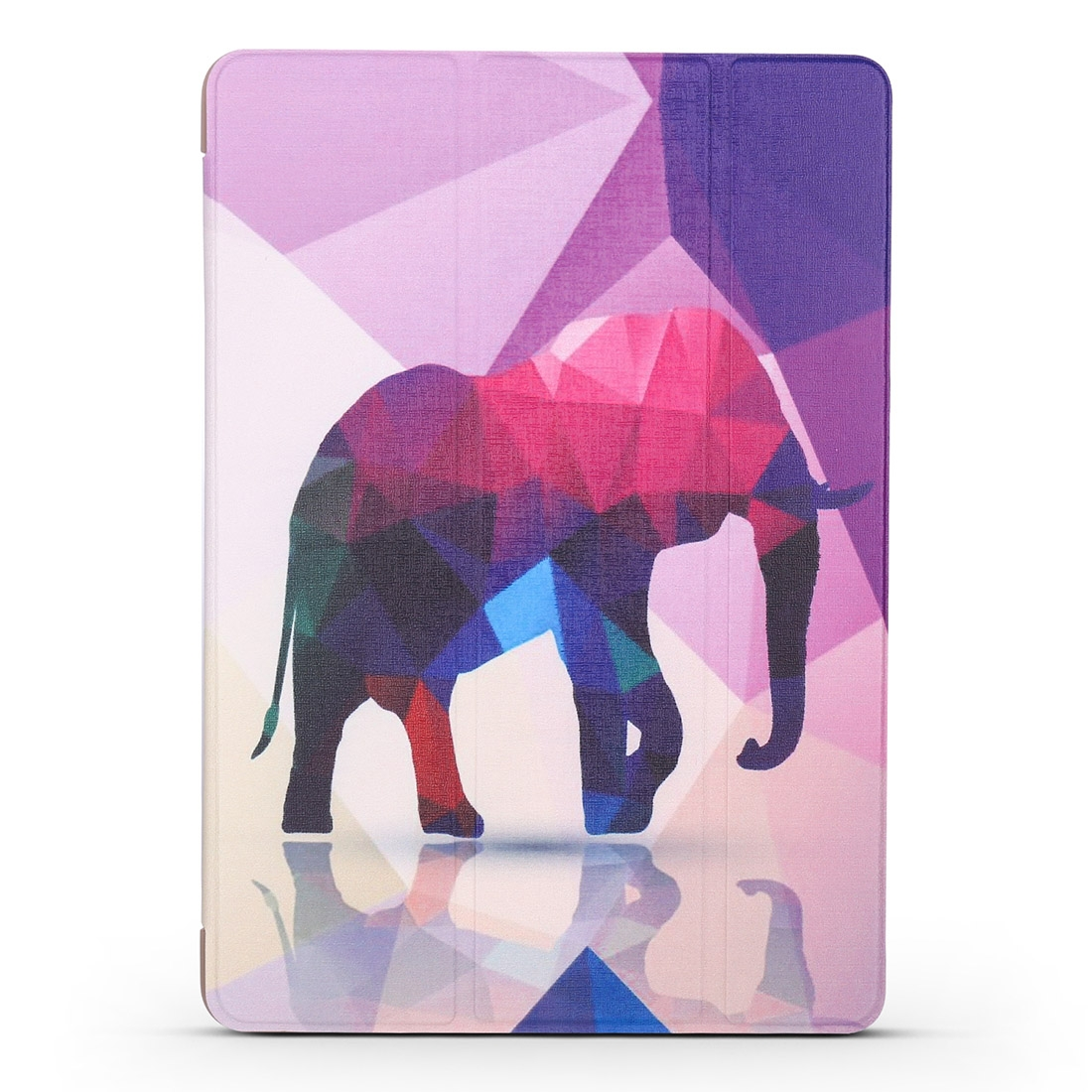 Elephant Leather iPad Air 2 Case (2019)/ Pro 10.5 inch, with Tri-Fold Honeycomb Durable Cover
