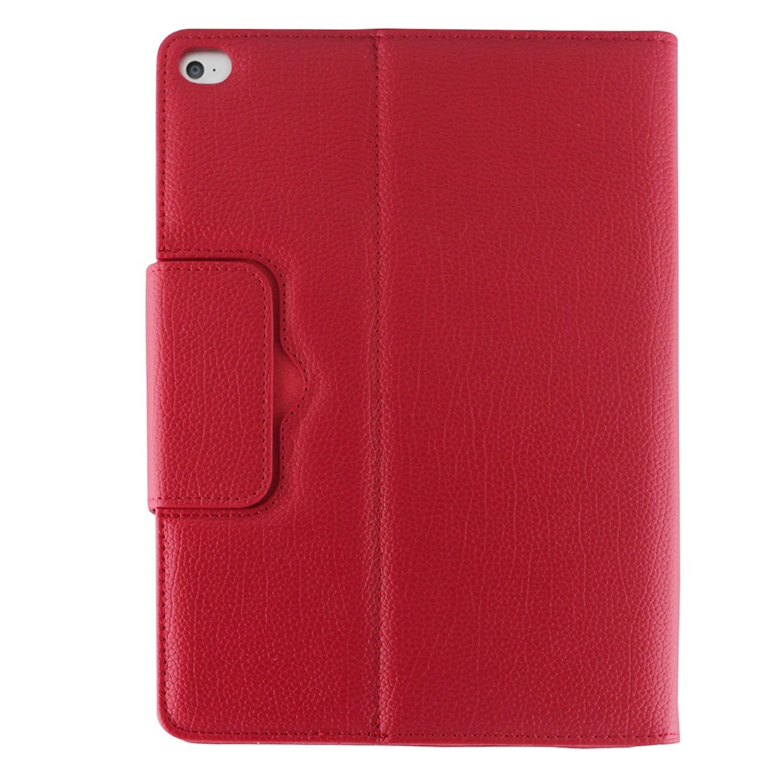 iPad Air 2 Case With Keyboard For iPad Air 2, Leather Case With Bluetooth & Auto/Sleep (Red)