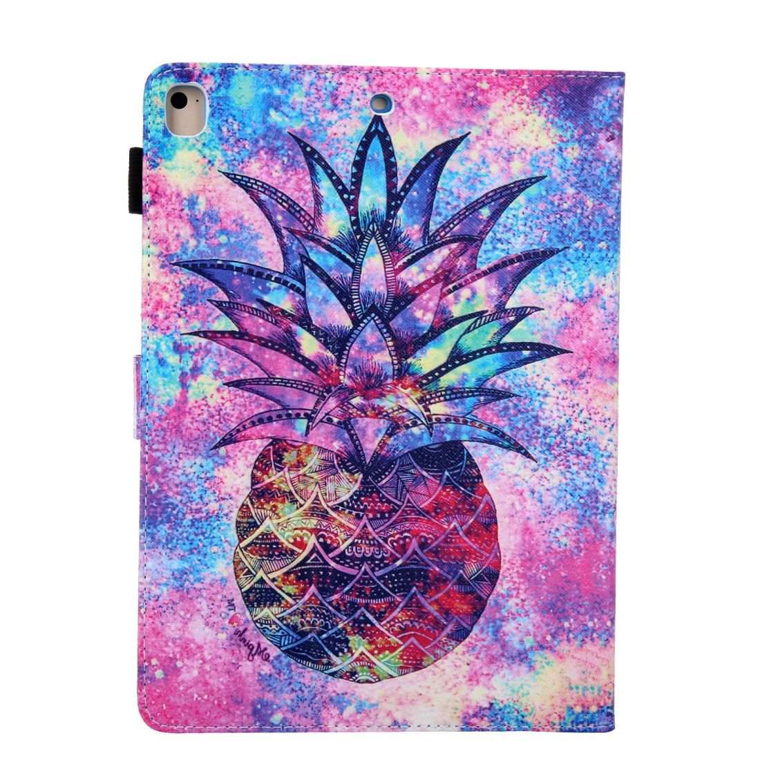 3D Leather Case with Sleeve  iPad 9.7 Case (Pineapple)