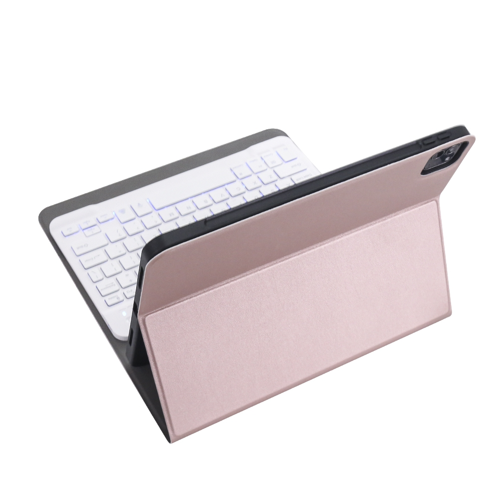 iPad Pro 11 Case With Keyboard (2020), With Bluetooth & Leather Case