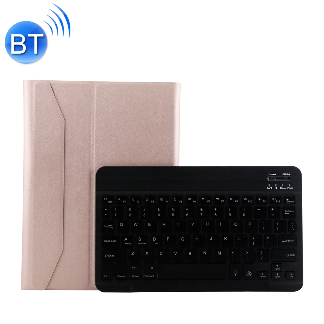 iPad Air 2 Case With Keyboard With Leather Case For iPad Air/Air 2/Pro 9.7 inch  (Pink)