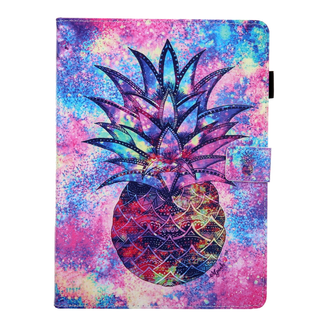 3D Leather Case with Sleeve  iPad 10.5 Case (Pineapple)