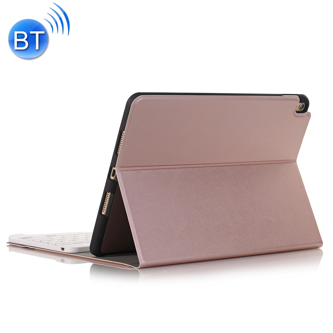 iPad Pro 12.9 Case With Keyboard (2018-20) With Leather Case & Thin Keyboard