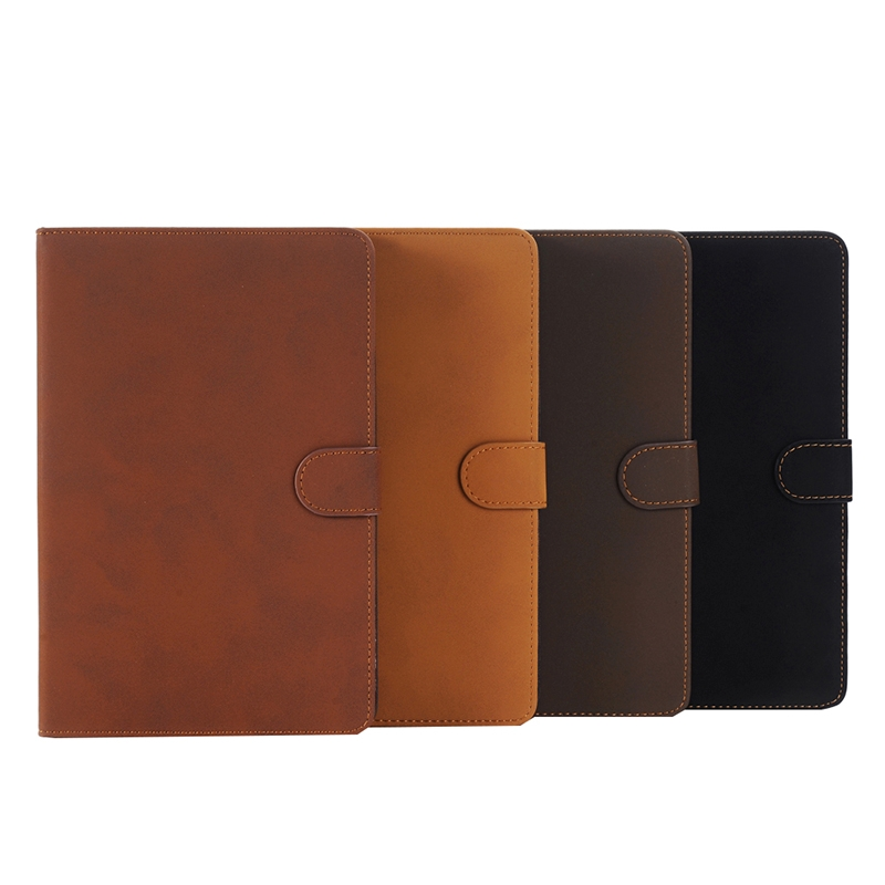Archaize Texture Leather iPad Pro 12.9 Case (Brown)