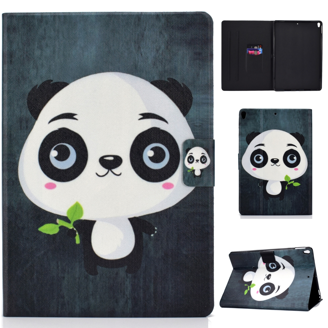Artsy Protective iPad Air 3 Case (10.5 Inch), iPad Air (2019), Auto Sleep, Non-slip (Panda)