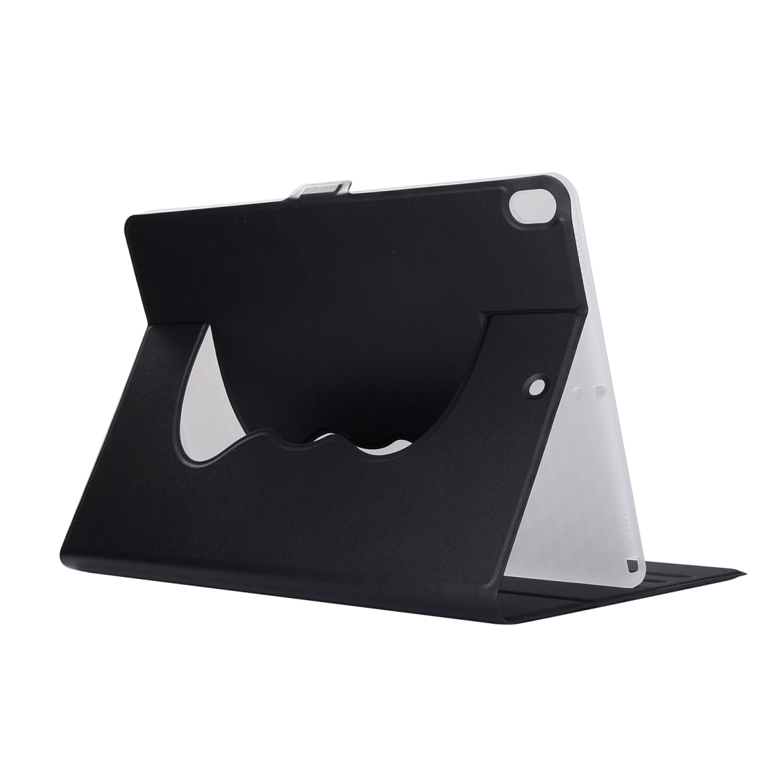 Elastic Force Leather Case with 360 Degrees Rotation Stand For iPad Pro 10.5 inch (Black)