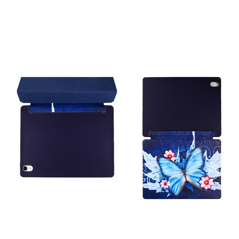 Butterflies Leather iPad Pro 11 Case (2018), with Pen Holder