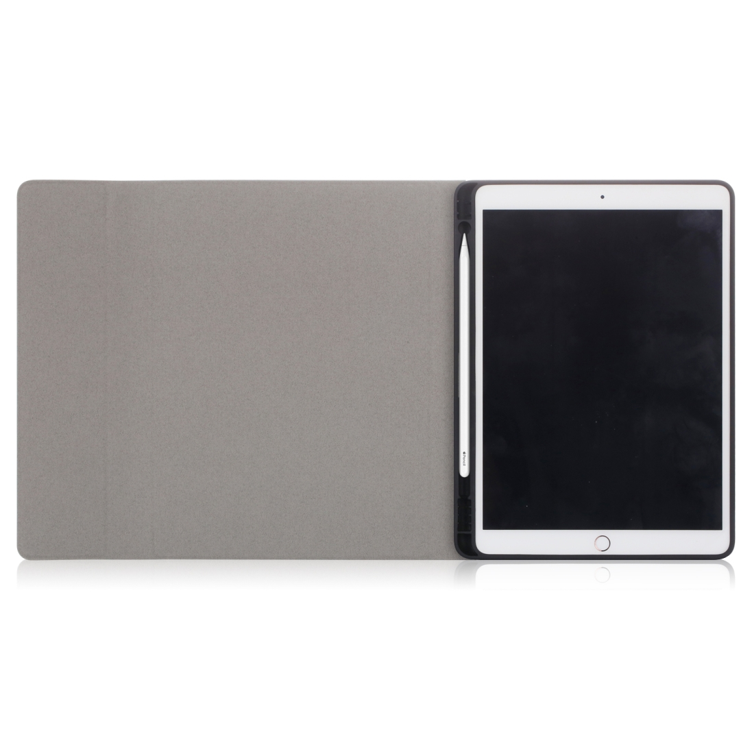 iPad Air 2 Case For iPad Air /Air 2 (2019), Leather Case Without Keyboard (Black)