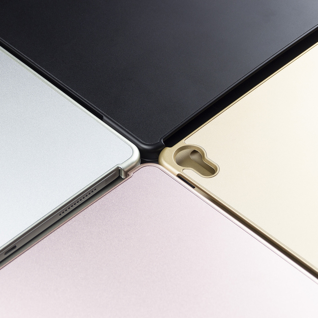 iPad Pro 11 Case With Keyboard (2018-20) & Backlit Keyboard (Gold)