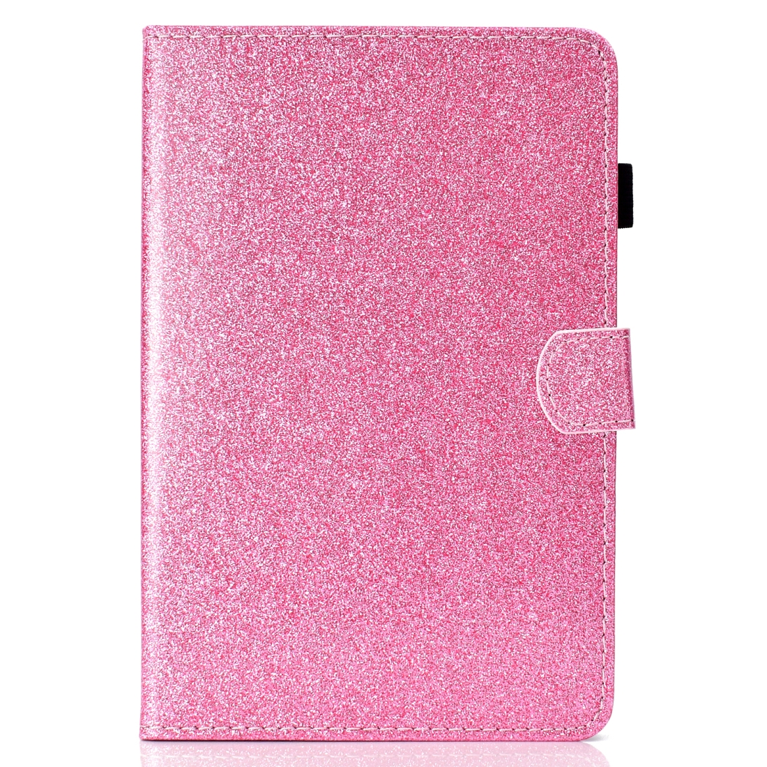 Bling Glitter Leather iPad Mini 5 Case, Also Fits iPad Mini 1,2,3,4, With Sleeve (Pink)