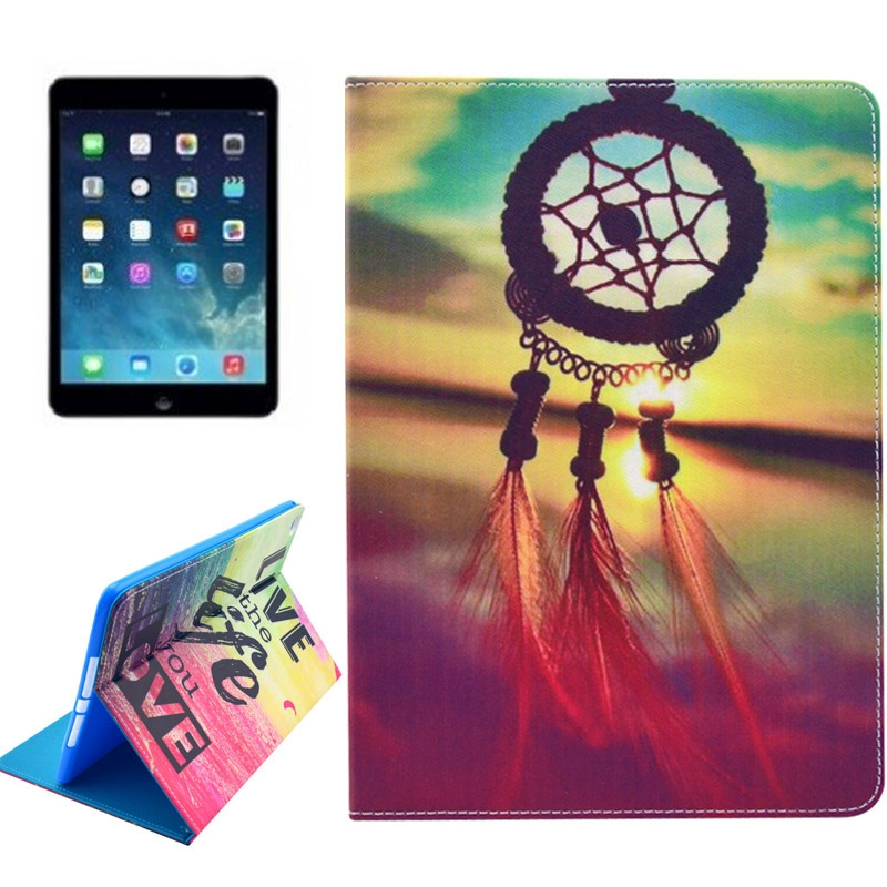 Dream Catcher Smart Leather iPad Air 2 Case/ iPad 6 Case w/ Slim Profile & Wake/ Auto Sleep