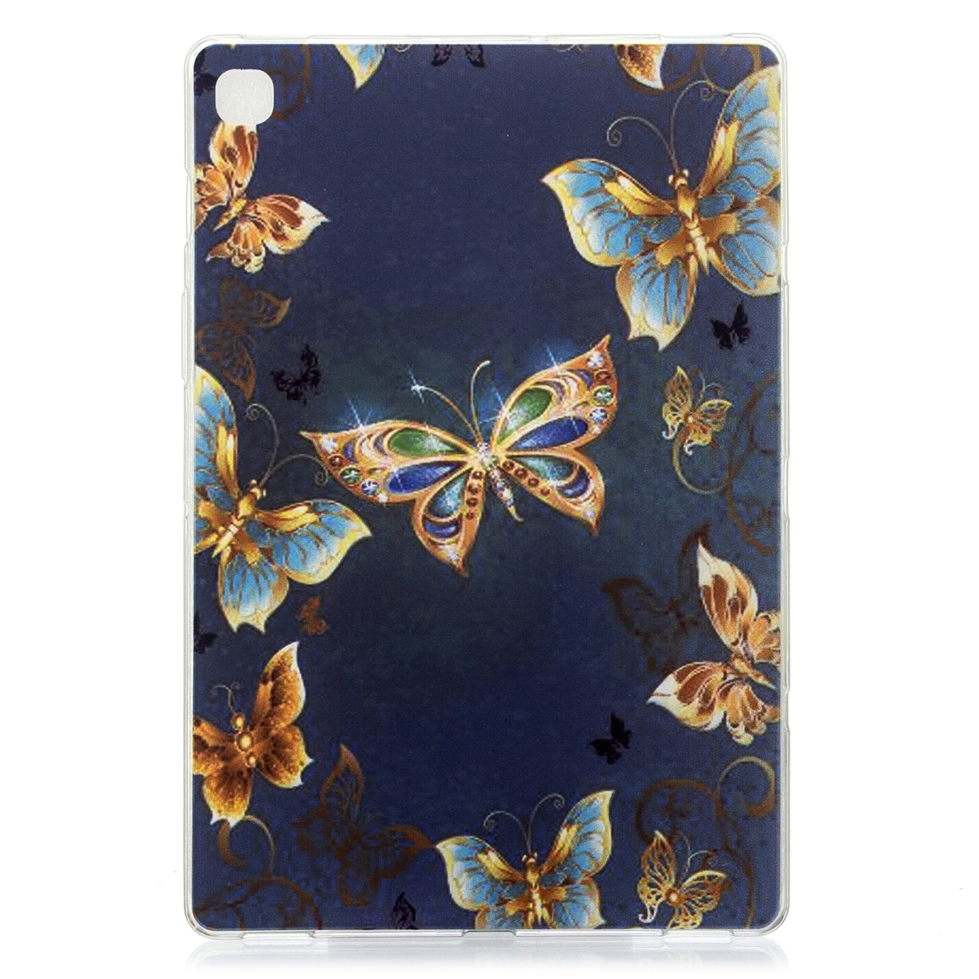 For Galaxy Tab S5e T720 Artistic Pattern Durable Case (Jewelry Butterfly)
