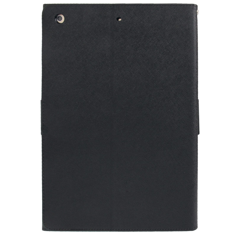 iPad Air Case Cross Texture Leather Case with Sleeve & Holder  (Black)
