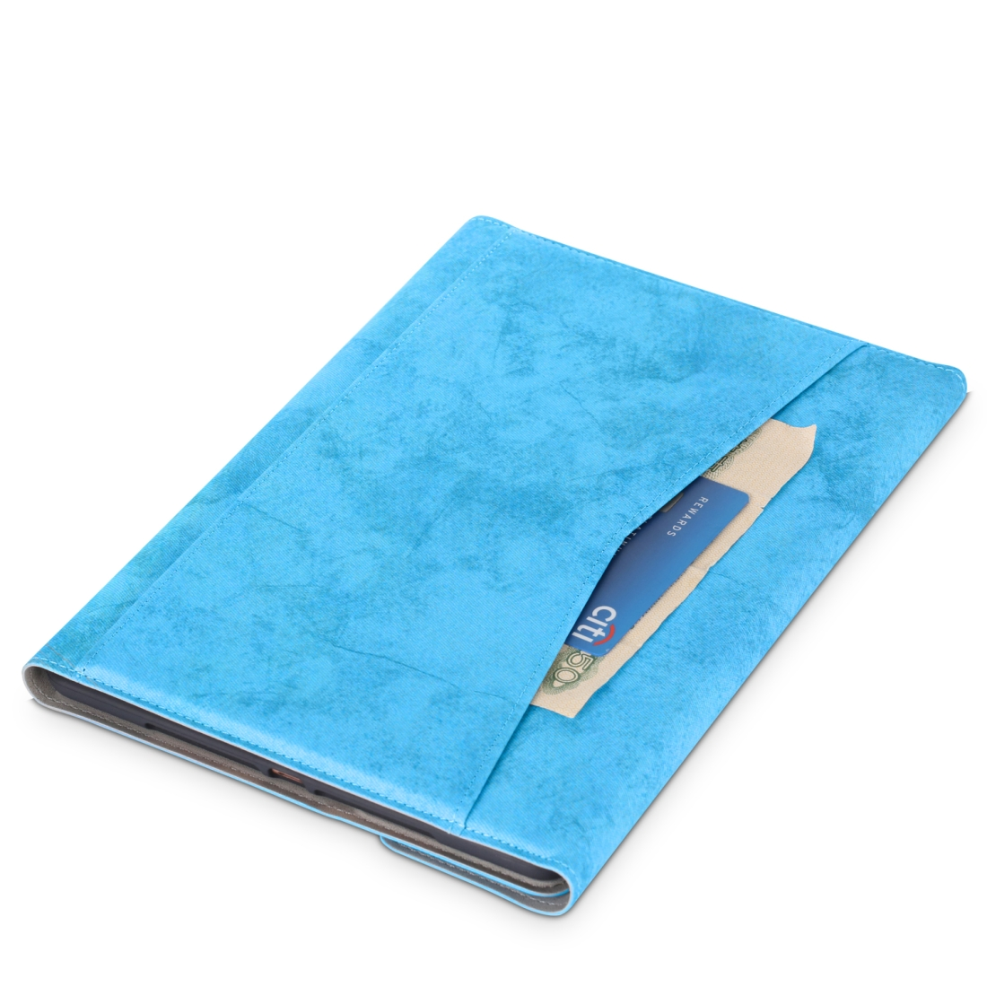 iPad Air 2 Case For iPad Air /Air 2 (2019), Leather Case Without Keyboard (Sky Blue)
