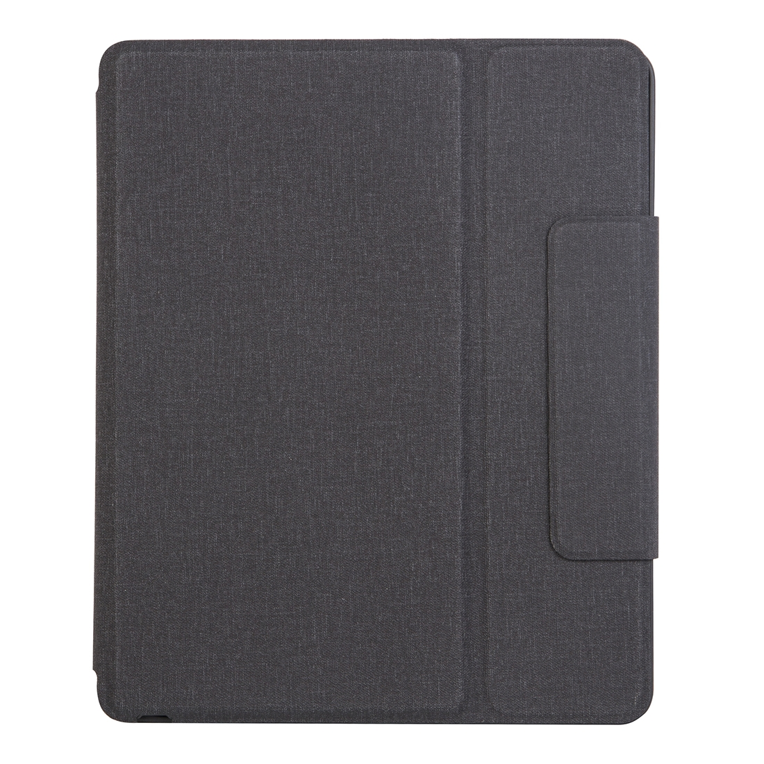 iPad Pro 12.9 Case With Keyboard (2018) With Leather Case & Ultra Thin Keyboard (Black)