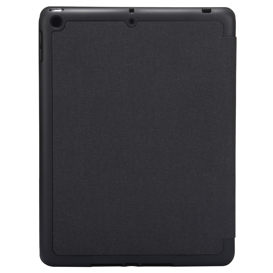 Cloth Texture Leather iPad Air 3 Case (10.5 Inch) ,with Pen Holders (Black)