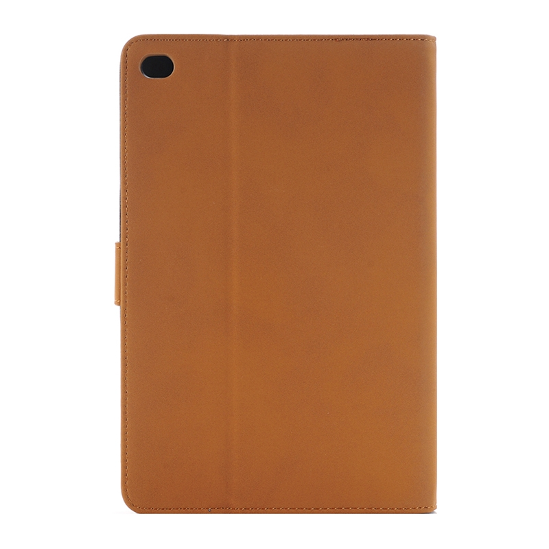 Archaize Texture Leather iPad Pro 12.9 Case (Yellow)