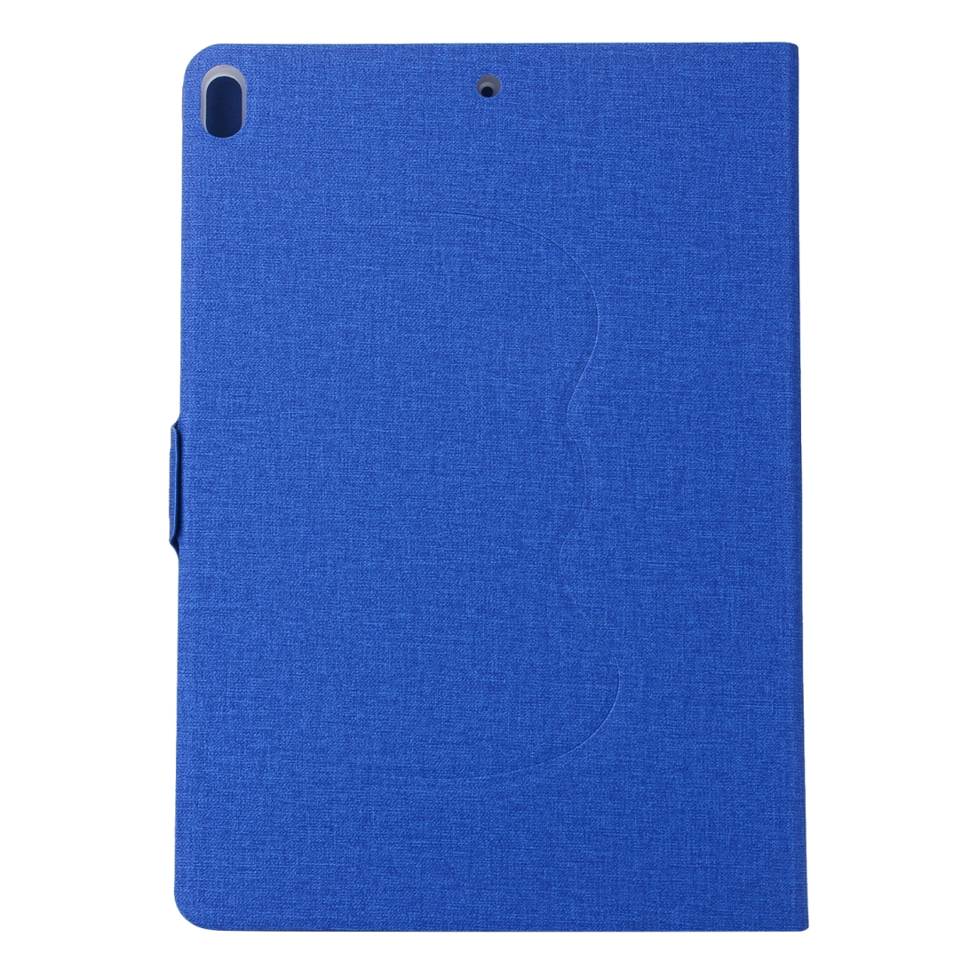 Cloth Texture Leather Case with 360 Degrees Rotation Stand For iPad Pro 10.5 inch (Blue)