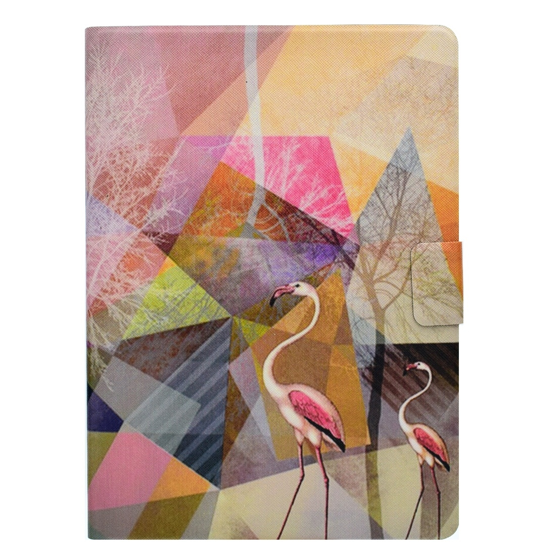 iPad 4 Case For iPad 4/ 5/ 6 Featuring A Protective Leather Cover With Auto Sleep (Flamingo)