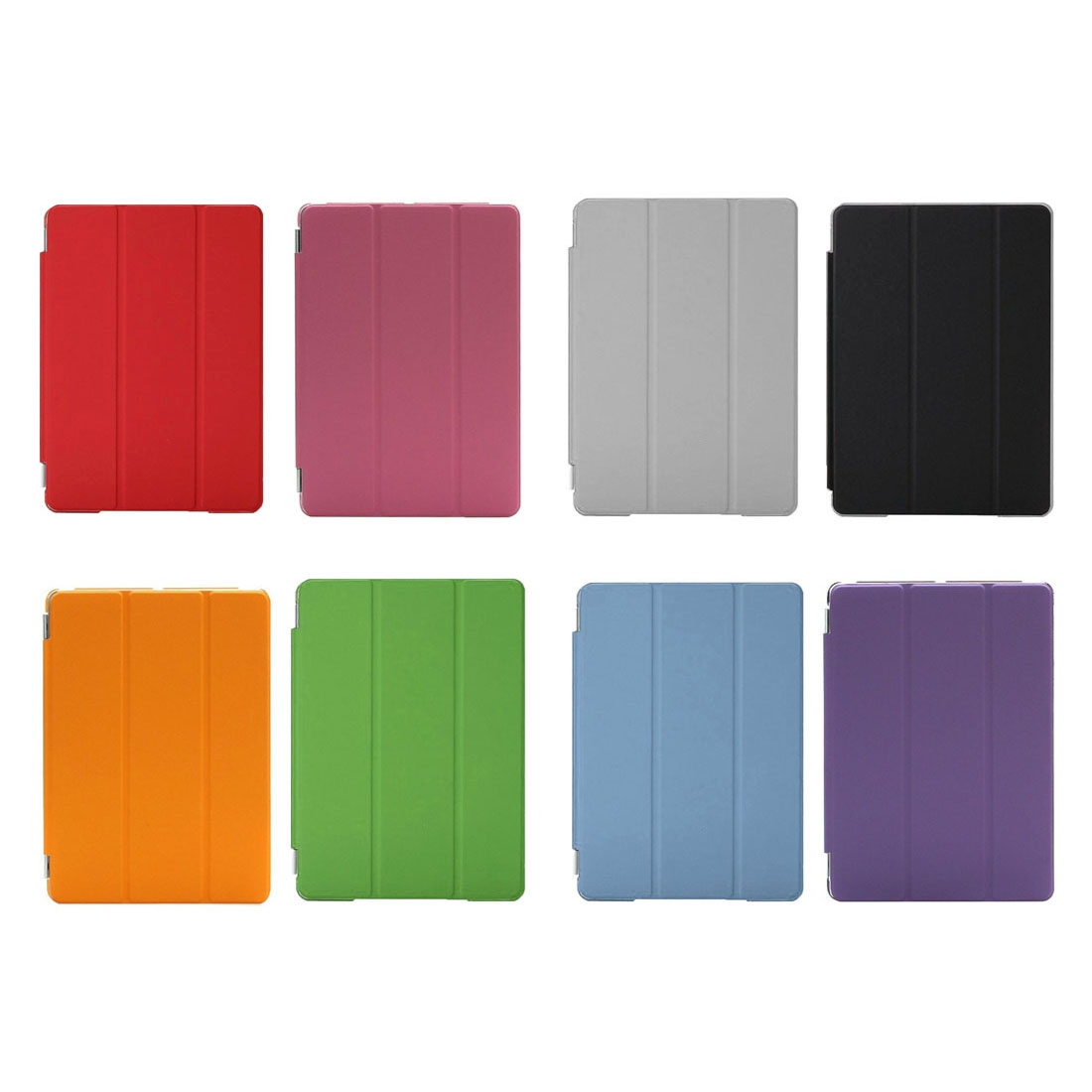 iPad Air Cover Features A Stylish Protective Leather Casing And A Tri-Fold Stand (Blue)