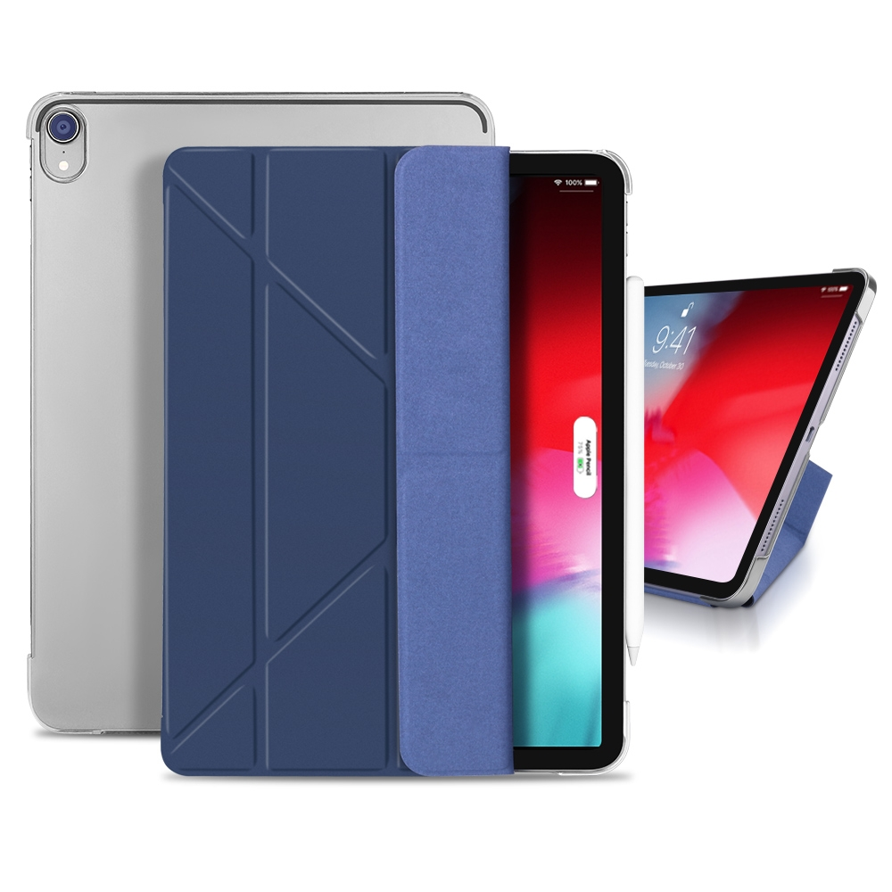 Shockproof Durable Protective iPad Pro 12.9 Case (2018), with Auto Sleep (Mint Green)