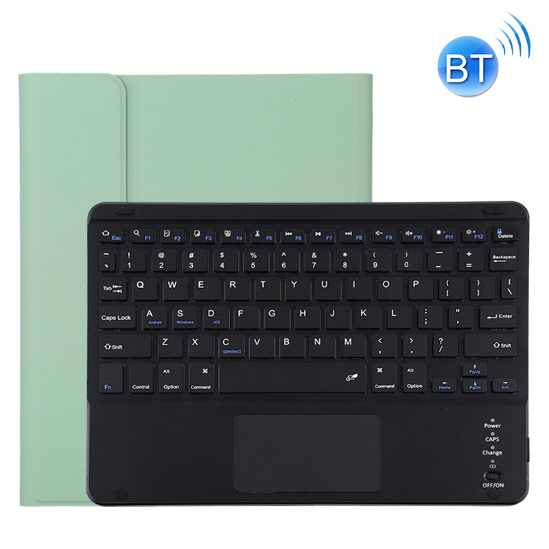 iPad Pro 11 Case With Keyboard (2020), With Leather Case & Detachable Keyboard (Green)