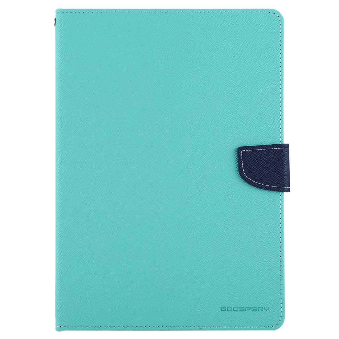 iPad Air Case Cross Texture Leather Case With A Slim Profile (Mint Green)